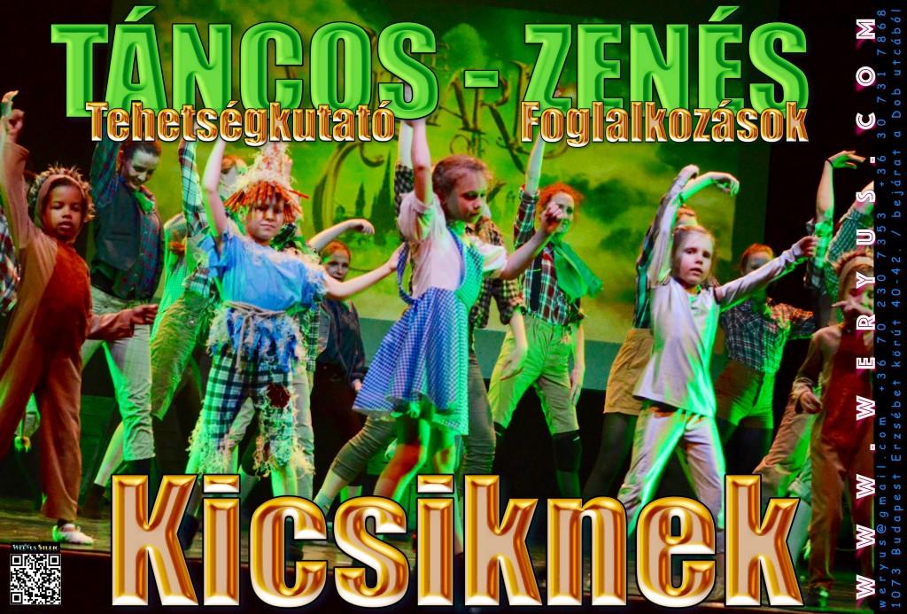 Weryus Musical Studio - Színpadi tánc alapozó - babaszakasz (1)